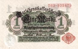 GERMANY P.  50 1 M 1914 AUNC - [ 2] 1871-1918 : Impero Tedesco