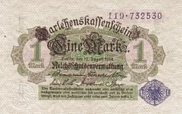 GERMANY P.  52 1 M 1914 AUNC - [ 2] 1871-1918 : Impero Tedesco
