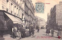 CPA  :Paris (75) Série Tout Paris XIX ème Rue Des Envierges Prise De La Rue Du Plot .  Ed Fleury  679 - France