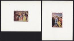 NIGER (1967) Paintings Of Ingres. Set Of 2 Deluxe Sheets. Scott Nos C76-7, Yvert Nos PA76-7. - Niger (1960-...)