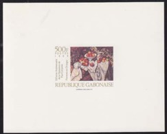 GABON (1989) Apples & Oranges By Cezanne. Deluxe Sheet. Scott No 671. - Gabon (1960-...)
