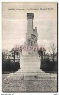 CPA Cognac Le Monument Edouard Martell - Cognac