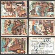 Liebig - Vintage Chromos - Series Of 6 / Série Complète - Habitations - En Français - Liebig