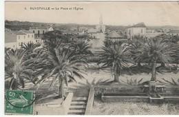 Guyotville - La Place Et L ' église - Algeria