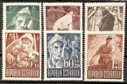 AUSTRIA 1947 - ANK 838-843 - Complete Set! - 1945-60 Oblitérés