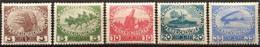 AUSTRIA 1915 - ANK 180-184 - Complete Set! - Unused Stamps