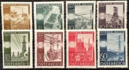 AUSTRIA 1947 - MLH - ANK 811-818 - Complete Set! - Wiener Messe - 1945-.... 2de Republiek