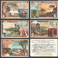 Liebig - Vintage Chromos - Series Of 6 / Série Complète - Détroits Extra-Européens - En Français - Liebig