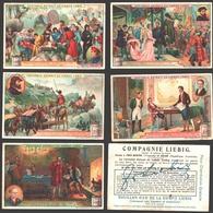 Liebig - Vintage Chromos - Series Of 6 / Série Complète - Négociants Célèbres - En Français - Liebig