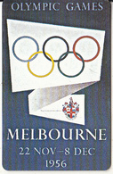 USA - Melbourne 1956 Olympics, US Promotion Prepaid Card, Tirage 2000, Exp.date 31/08/97, Used - Jeux Olympiques