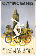 USA - London 1948 Olympics, US Promotion Prepaid Card, Tirage 2000, Exp.date 31/08/97, Used - Jeux Olympiques