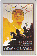 USA - Berlin 1936 Olympics, US Promotion Prepaid Card, Tirage 2000, Exp.date 31/08/97, Used - Jeux Olympiques