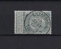 N°63 GESTEMPELD Lommel 1899 COB € 3,25 + COBA € 10,00 SUPERBE - 1893-1900 Schmaler Bart