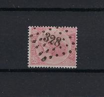 N°20A GESTEMPELD Pt328 St.Nicolas COB € 22,00 COBA € 10,00 SUPERBE - 1865-1866 Profil Gauche