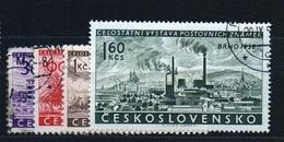 CSSR 1958 Michel: 1097-1100 Used - Czechoslovakia