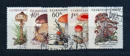 CSSR 1958 Michel: 1101-1105 Used - Czechoslovakia