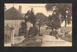 70 - MONTBOZON - Entrée De Montbozon Par La Route De Besançon - RARE ,#70/048 - Francia