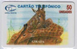 Girafa - 50 Unidades - Voir Scans - Angola