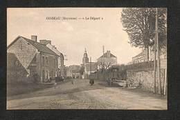 """53 - OISSEAU - """"Le Départ"""" - 1933 ,#53/001 - Other Municipalities"""