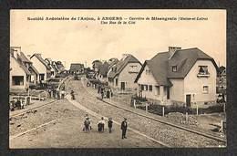 49 - Société Ardoisière De L'Anjou, à ANGERS - Carrière De Misengrain - Une Rue De La Cité - 1935 ,#49/001 - Angers