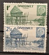 DAHOMEY 1941 - MLH - YT 149, 150 - Pétain - Dahome (1899-1944)