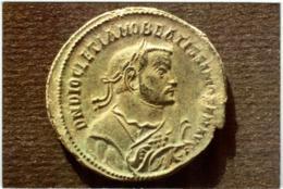 5THK 1417 DIOCLETIEN - NUMMUS FRAPPE A LYON (DIMENSIONS 10 X 15 CM) - Monnaies (représentations)