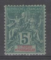Ste MARIE De MADAGASCAR:  N°4 **      - Cote 30€ (Maury 2011) - - Madagaskar - Sainte-Marie (1894-1898)