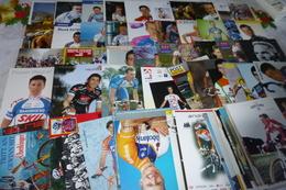 LOT DE 60 CARTES PUBLICITE CYCLISTES .....CYCLISME...VELO - Cartes Postales
