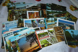 LOT DE 120 CARTES DES LANDES ..DEP 40 - Cartoline