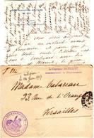 AVIATION MILITAIRE Guerre De 14 Lettre De L' ECOLE D'AVIATION DE PAU Basses Pyrenees Belle Entete - Poststempel (Briefe)