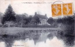 35 - Ille Et Vilaine - TREMBLAY - Le Manoir - Francia