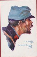CPA Militaria - Signée Illustrateur Illustrator Emile Dupuis - WW1 WWI World War La Grurie - Février 1915 - Guerre 1914-18