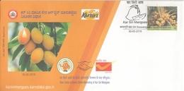 India  2019  Fruits  Kar Siri  Mangoes  Basavangudi  Special Cover  #  24666  D Indien Inde - Fruits