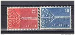 EUROPA 1957 SUISSE ** MNH .  (3N14) - Europa-CEPT