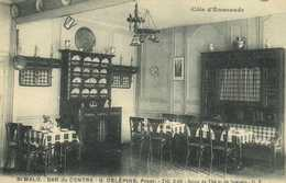 St MALO  BAR Du CENTRE  G  DELEPINE  Propr Salon De Thé Et De Soupers RV - Saint Malo
