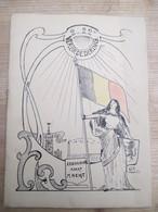 Theatre Royal Francais De Gand 1931 Verbroedering 2 En 22 Ste Linieregiment Gent - Programma's
