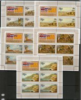 NIUE 1978 FEUILLET J.COOK-BATEAUX  YVERT N°98/102  NEUF MNH** - Niue