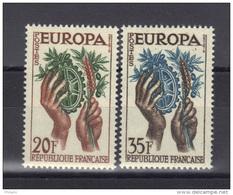 EUROPA 1957 FRANCE ** MNH .  (3N9) - Europa-CEPT