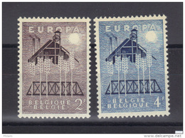 EUROPA 1957 BELGIQUE ** MNH .  (3N8) - Europa-CEPT