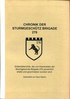 Chronik Der Sturmgeschütz Brigade 276 - Deutsch