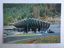 74 Haute Savoie Chamonix Pellerins Entrée Du Tunnel Du Mont Blanc - Chamonix-Mont-Blanc