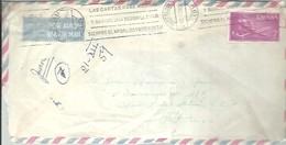 CARTA 1959  A MEJICO FRANQUEO INTERESANTE - 1951-60 Briefe U. Dokumente