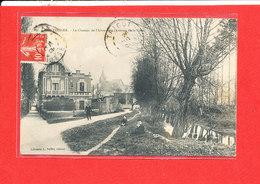 80 MONTDIDIER Cpa Animée Le Chemin De L ' Abreuvoir   34 Vallée - Montdidier