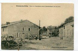 CPA 51 : VIENNE LA VILLE Route De Courtemont  A    VOIR  !!! - Other Municipalities