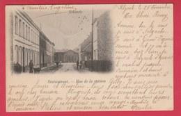 Zelzate - Statiestraat -1901 ( Verso Zien ) - Zelzate