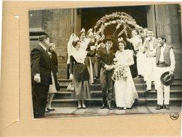 PHOTO PRESSE 1960  LILLE  Mariage Folklorique  JEANINE CAMUS  En Arlésienne Et PERRE LEMAIRE  En Linmousin - Orte