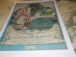 ANCIENNE PUBLICITE LES ETRENNES LA MARQUISE DE SEVIGNE 1914 - Posters