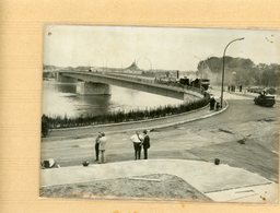PHOTO PRESSE 1960 Le Nouveau Pont De L'europe En Travaux Reliant  STRASBOURG  è KEHL - Lieux