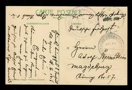 1916 Freiwilliger In Soldatenheim Von Verbindungsoffizier Gülek, Türk. Bahnpost - Occupation 1914-18