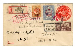 1917: R-Brief Aus Diabekir, Türk. Frankatur, Türkische Und österr. Zensur - Occupation 1914-18